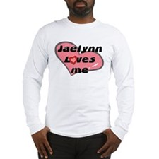 jaelynn loves me Long Sleeve T-Shirt