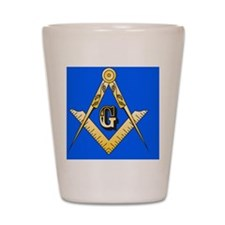 Masonic Magnet Shot Glass