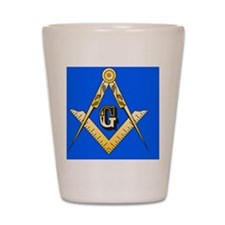 masonic trailer hitch cover Shot Glass