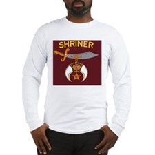 SHRINER round car magnet Long Sleeve T-Shirt