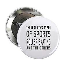 "Roller Skating Designs 2.25"" Button"