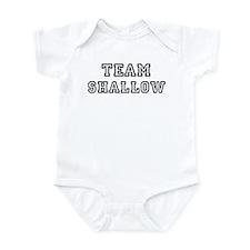 Team SHALLOW Infant Bodysuit