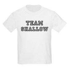 Team SHALLOW Kids T-Shirt