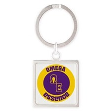 Omega Essence Oval Square Keychain