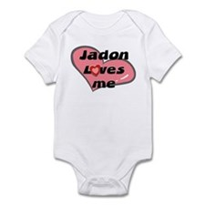 jadon loves me  Infant Bodysuit