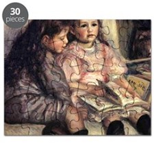 Portrait Of Two Children Puzzle