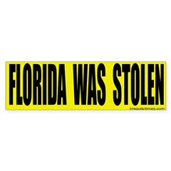 Florida Was Stolen Bumper Sticker