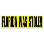 Florida Was Stolen Bumper Sticker