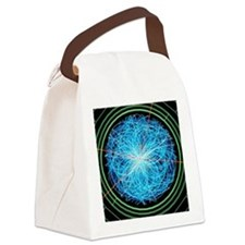 Simulation of Higgs boson product Canvas Lunch Bag