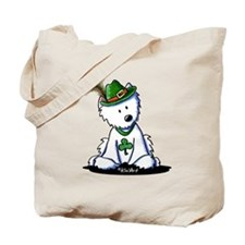 St. Patrick Westie Tote Bag