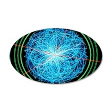 Simulation of Higgs boson pr Wall Decal