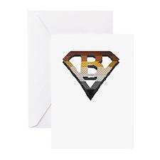 SUPERBEAR PRIDE/BRICK/SHADOW/SHIELD Greeting Cards