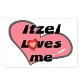 itzel loves me  Postcards (Package of 8)