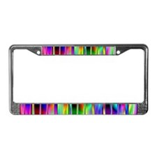 Cool Clubbing License Plate Frame