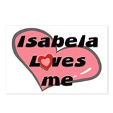 isabela loves me  Postcards (Package of 8)