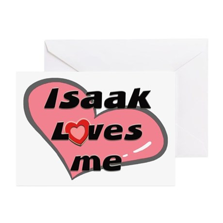 isaak loves me Greeting Cards (Pk of 10)