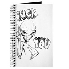 Paul the Alien F You Journal