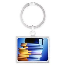 University education Landscape Keychain