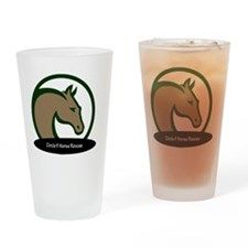 Circle F logo circular text-png Drinking Glass