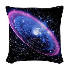 Supernova explosion, artwork Woven Throw Pillow