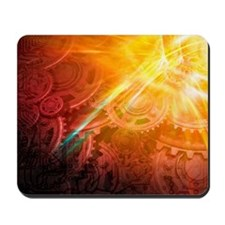 Quantum mechanics, conceptual artwork Mousepad