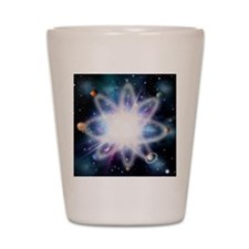 Quantised orbits of the planets Shot Glass