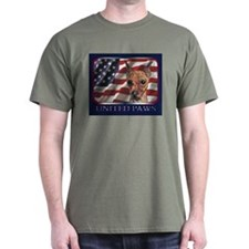 Min Pin USA Flag Patriotic Dark Colored T-Shirt