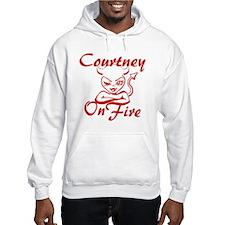 Courtney On Fire Hoodie