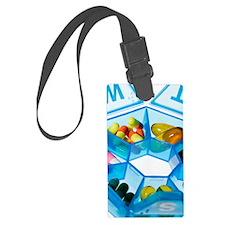 Pill box Luggage Tag