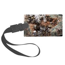 Vesuvianite mineral sample Luggage Tag