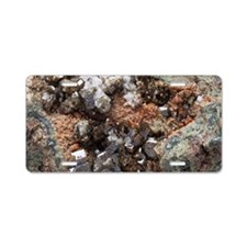 Vesuvianite mineral sample Aluminum License Plate