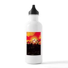 Oil pumps, artwork Water Bottle
