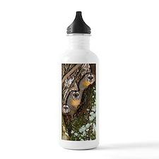 Three-striped owl monk Water Bottle