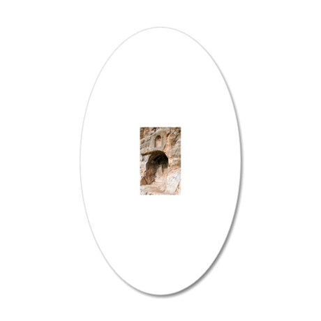 The Court of Pan 20x12 Oval Wall Decal