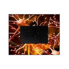 Nerve cells, artwork Picture Frame