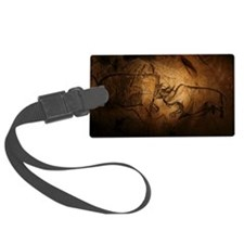 Stone-age cave paintings, Chauve Luggage Tag