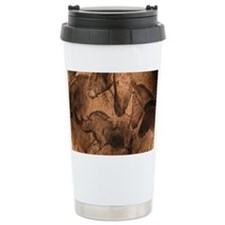Stone-age cave paintings, Chauv Ceramic Travel Mug
