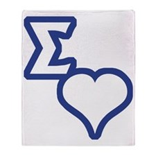 Sigma Sweet Throw Blanket