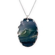 Wind-blown wave breaking in Ha Necklace