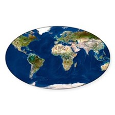 Whole Earth map Decal