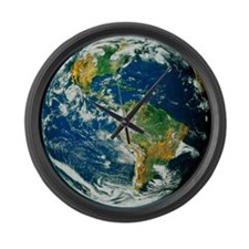 Whole Earth (Blue Marble 2000) Large Wall Clock