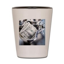 Medical costs Shot Glass