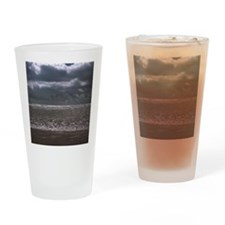 Waves on beach Drinking Glass