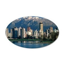 View of Vancouver, Canada Decal Wall Sticker