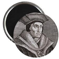 Sir Thomas More, English statesman Magnet