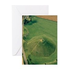 Silbury Hill, Wiltshire, UK Greeting Card