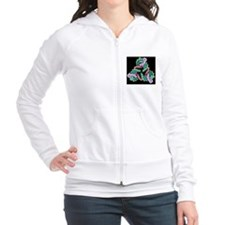 Self-assembled 3D DNA crystal Fitted Hoodie