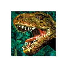 "Tyrannosaurus rex dinosaur  Square Sticker 3"" x 3"""