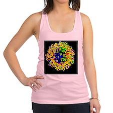 Influenza virus, artwork Racerback Tank Top