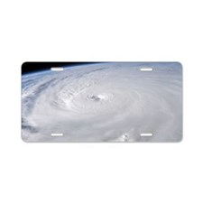 Hurricane Ivan Aluminum License Plate